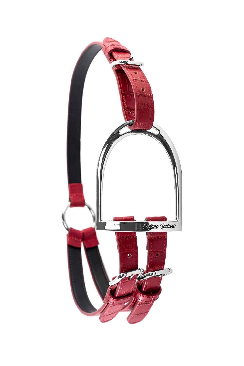 Red Stirrup Belt