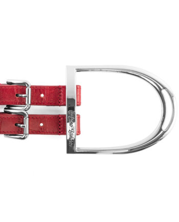 Red Stirrup Belt