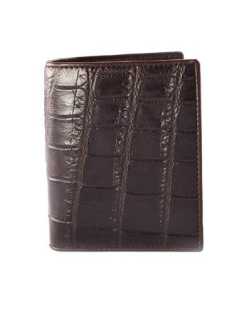 Croc Wallet Brown