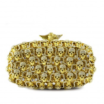 Madelyn Clutch Gold