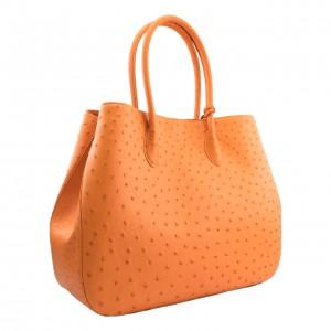 Ostrich Bag Orange 4