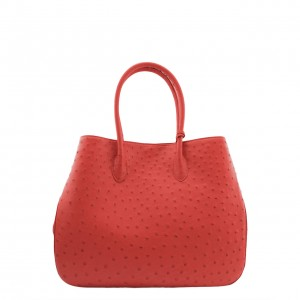 Ostrich Bag Orange 5