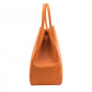 Ostrich Bag Orange 9